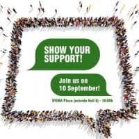 Cancro: un flashmob per sostenere la ricerca all'Esmo