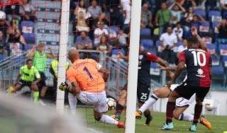 Cagliari-Crotone 1-0, il sardo Sau inaugura il nuovo stadio