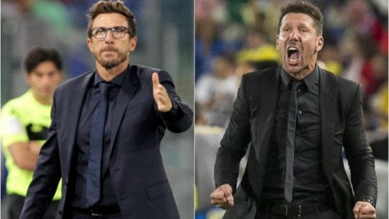 Di Francesco-Simeone: il calcio 'borghese' contro quello vincente e proletario