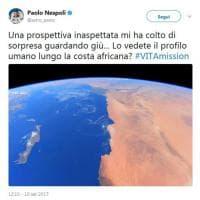 La foto di Nespoli dallo spazio:
