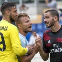 Milan, l'incubo dopo il sogno: e Bonucci diventa un caso. Montella: