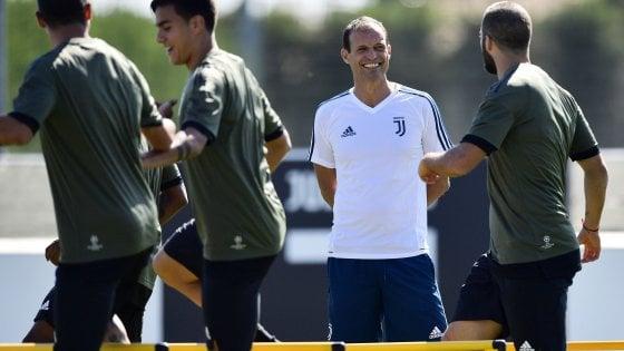 Juventus, emergenza Allegri: Chiellini e Mandzukic out per il Barça
