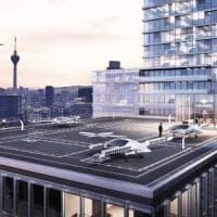 In giro per la città nel taxi volante: il futuro in un'app