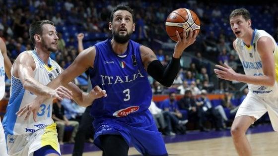 Basket, Europei; Belinelli: ''Sfida finora vinta, ma abbiamo ancora fame''