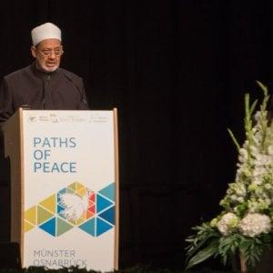 """""""Strade di pace"""", i leader religiosi e politici a Münster: """"Il terrorismo è un inganno blasfemo"""""""