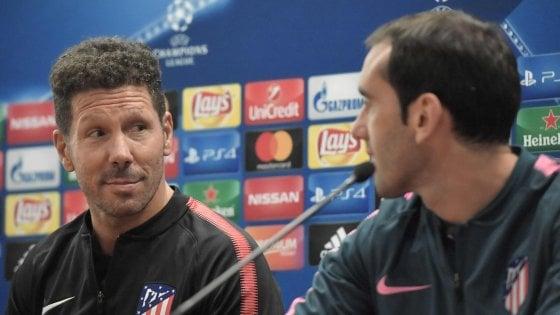 """Atletico Madrid, Simeone: """"Roma molto forte. La Champions arriverà"""""""