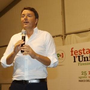 Renzi: dalle alluvioni a Bagnoli solo il Pd difende l'ambiente. Chi critica ci dia una mano