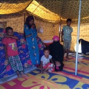 Iraq, 1.400 mogli e figli dell'Isis in un campo profughi a Mosul