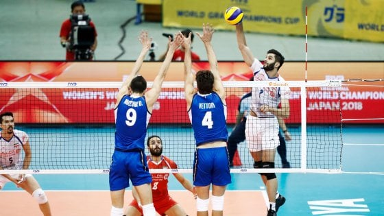 Volley, Grand Champions Cup: l'Italia parte male, ko al tie-break con l'Iran