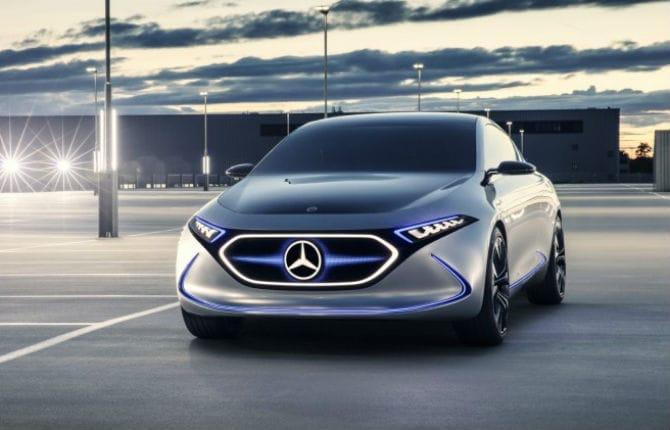 Mercedes EQA Concept, la compatta del futuro a Francoforte