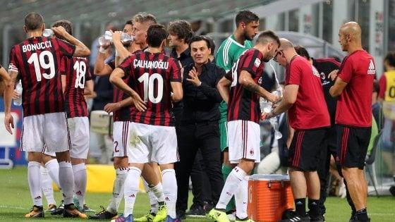 Milan, i milioni pesano su Montella: è l'ora delle scelte da non sbagliare