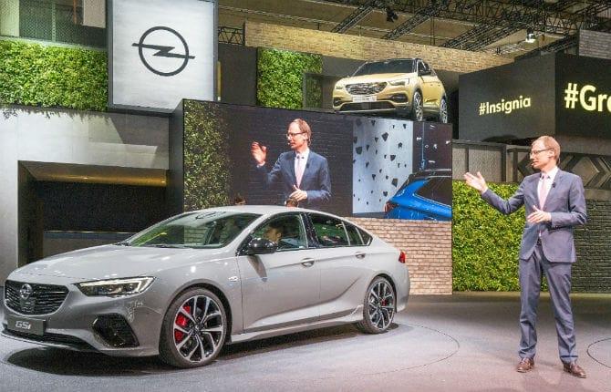 Opel, Grandland X sarà la prima ibrida plug-in del marchio