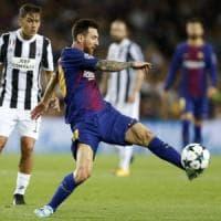 Le pagelle di Barcellona-Juventus: spettacolo Messi, Dybala non si vede