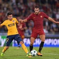 Le pagelle di Roma-Atletico Madrid: Alisson insuperabile, Griezmann non incide