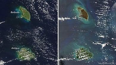 Il cuore verde si è spento: così le Isole Vergini spazzate da Irma