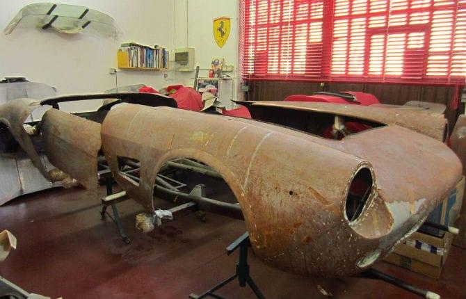 Modena Motor Gallery, tributo a Scaglietti