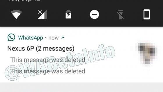 WhatsApp, in fase di test la funzione per cancellare i messaggi