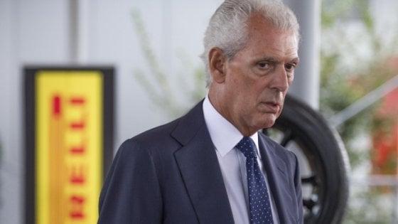 """Tronchetti Provera: """"Bravo Spalletti, ora l'Inter ha carattere"""""""