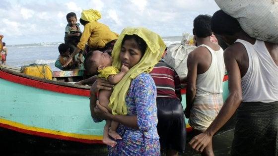 Rohingya, lettera all'Onu di Nobel e attivisti per fermare gli orrori