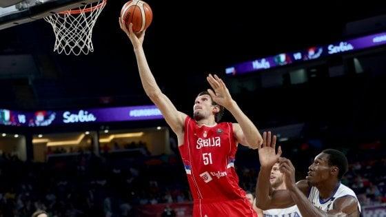 Basket, Europei: Serbia troppo forte, Italia eliminata ai quarti