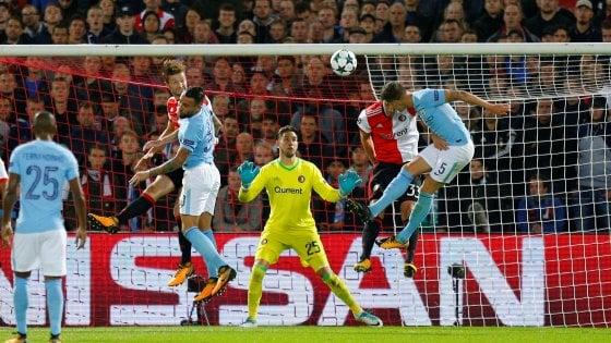 Champions: Kane trascina il Tottenham, valanga Manchester City. Real senza problemi