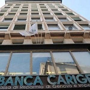 La sede di Carige a Genova