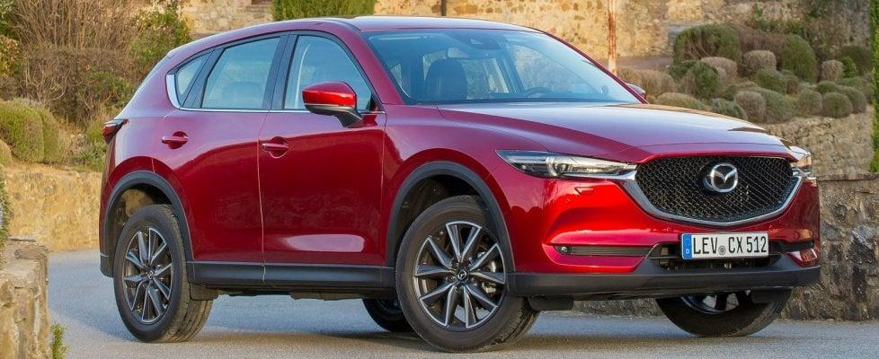 Mazda CX-5, debutto nel fine settimana