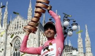 Ciclismo, storica prima volta per il Giro d'Italia: nel 2018 partirà da Israele