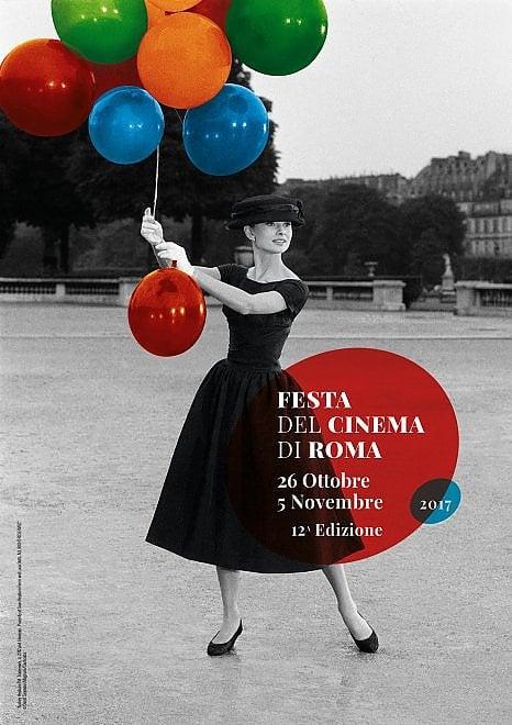 Audrey Hepburn sul manifesto della dodicesima edizione della Festa di Roma