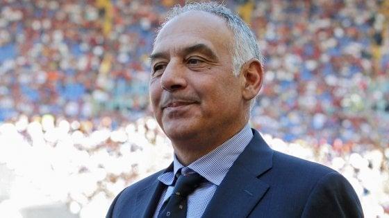"""Roma, Pallotta: """"Con Di Francesco tutto ok, ho piena fiducia in lui"""""""