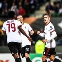 Austria Vienna-Milan 1-5: il diavolo rialza la testa, tripletta di Andrè Silva