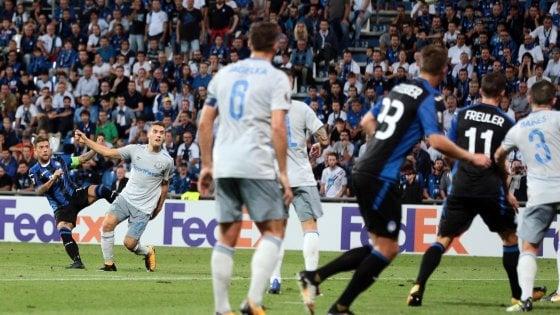 Atalanta-Everton 3-0: lezione dei nerazzurri a Rooney