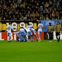 Vitesse-Lazio 2-3, Immobile e Murgia firmano la rimonta