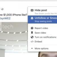 Facebook come WhatsApp, in test funzione per zittire utenti e pagine fino a un mese