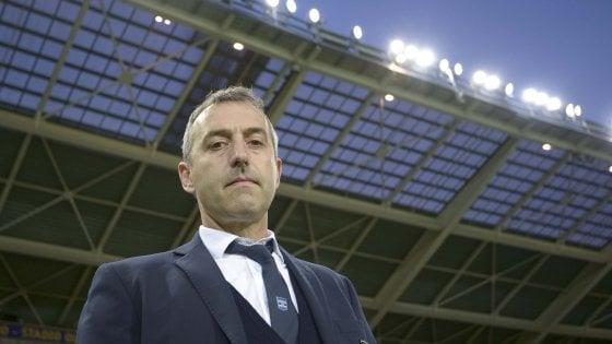 """Sampdoria, Giampaolo: """"Torino ci dirà chi siamo. Viviano titolare? Solo quando mi riempirà gli occhi..."""""""