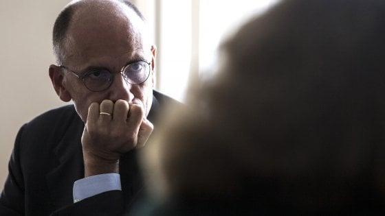 """Letta: """"Rischio ingovernabilità alto, Pd prenda iniziativa per nuova legge elettorale"""""""