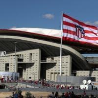 L'Atletico Madrid inaugura il nuovo stadio: ecco il Wanda Metropolitano
