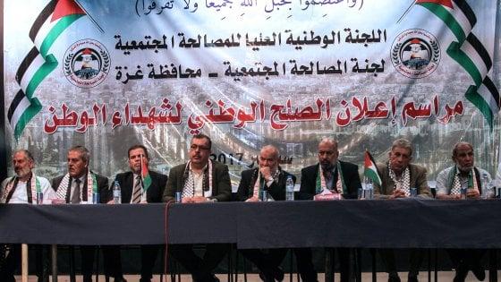"""Medio Oriente, passo di Hamas verso pace con l'Anp: """"Accettiamo vostre condizioni"""""""