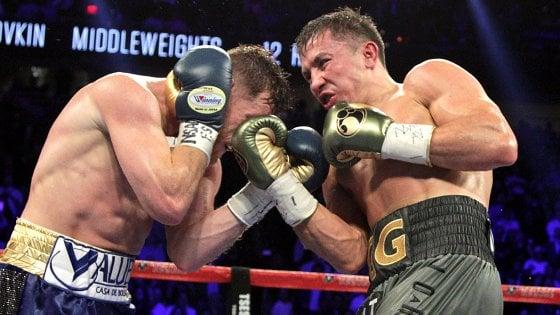 Boxe, Golovkin-Alvarez: show senza vincitori. Ma il verdetto fa discutere