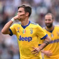 Dybala, 100 presenze in maglia Juve: festa con tripletta al Sassuolo