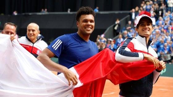 Tennis, Coppa Davis: la finale è Francia-Belgio