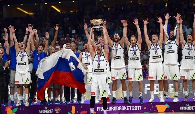 Basket, Europei: storico trionfo per la Slovenia, ancora un 2° posto per la Serbia