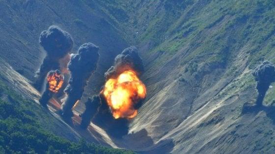 Corea del Nord, jet Usa simulano bombardamento al Sud.