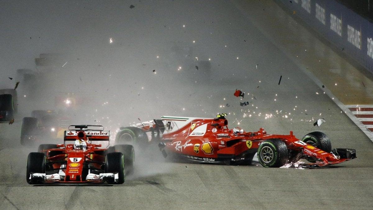 F1 Disastro Ferrari A Singapore E Ora Il Problema Motore