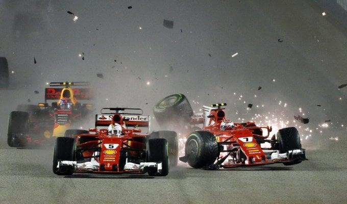 F1, disastro Ferrari a Singapore: e ora il problema motore