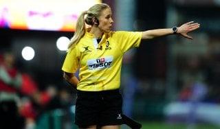 Rugby, Eccellenza: in Petrarca-Lazio la prima volta di una donna arbitro