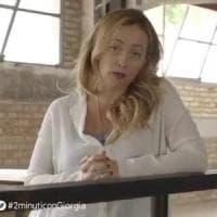 Atreju celebra i patrioti, Bocelli in un video con Giorgia Meloni