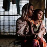 Rohingya, le foto satellitari dei villaggi bruciati