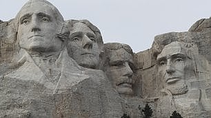 L'italiano del Mt Rushmore