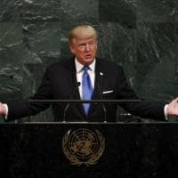 La prima volta di Trump all'Onu: